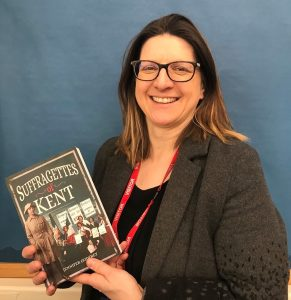 Author_Jennifer_Godfrey_visits_MGGS_to_talk_about_Suffragettes_in_Kent