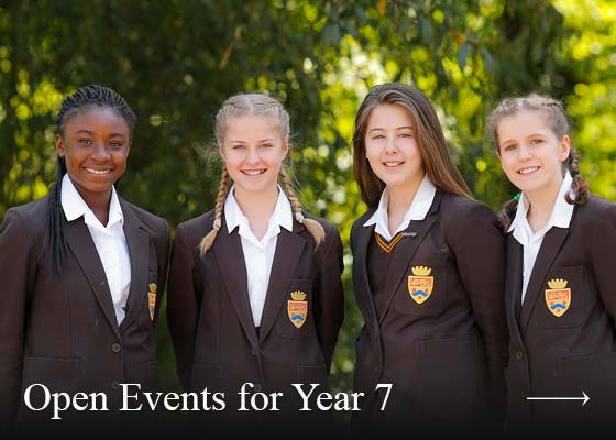 Open Events for Year 7