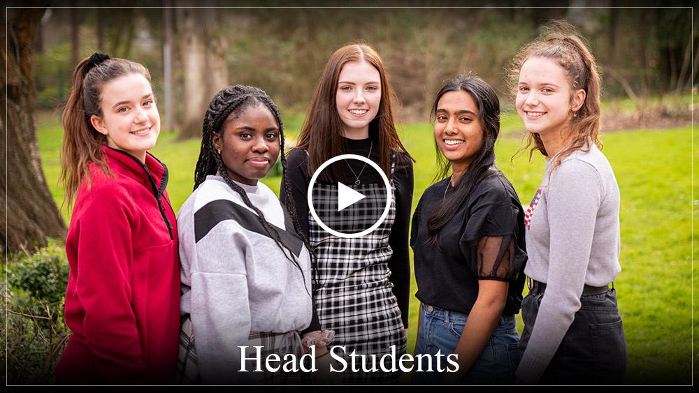 Head Students at MGGS