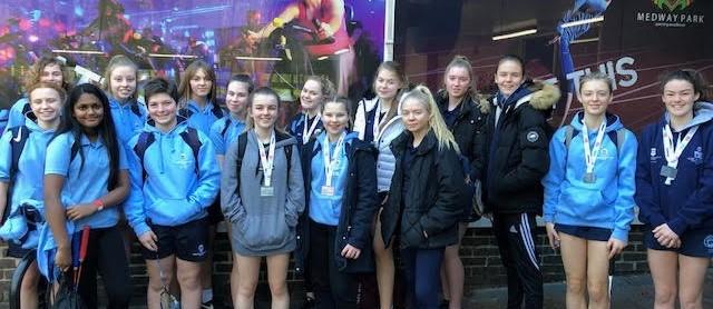 Kent_Schools_Badminton_Finals_MGGS_Students