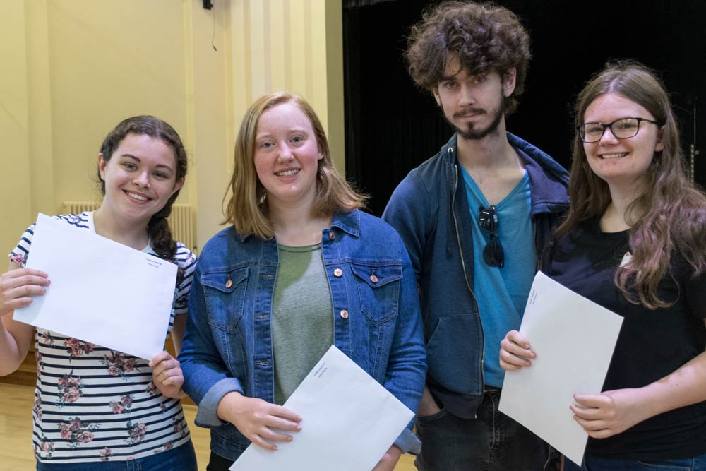MGGS A Level Results - 2018