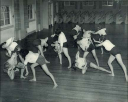 MGGS After the War - Dance Lesson in 1946