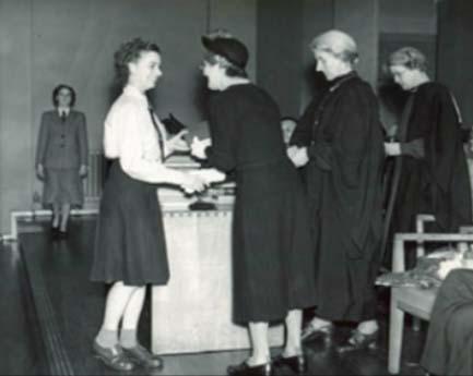 MGGS After the War - Speech Day 1950