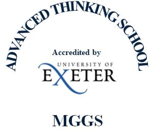 MGGS and the University of Exeter Logo