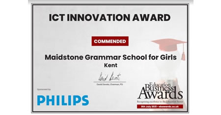 MGGS once again for making the shortlist for the ICT Innovation Award_fl