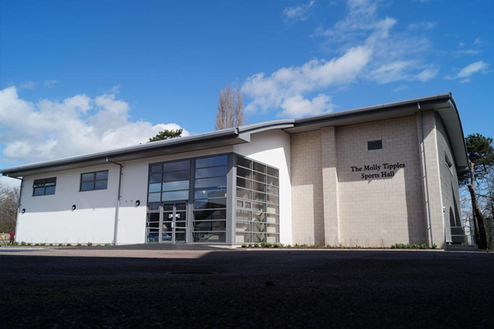 MGGS Sports Hall Building