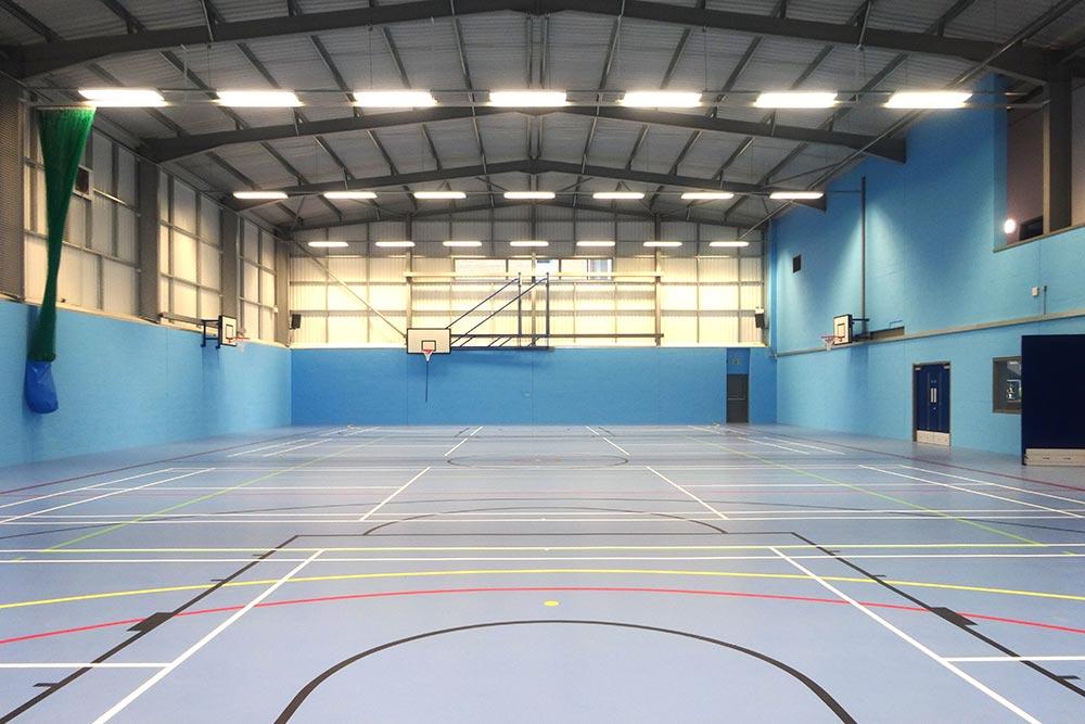 MGGS Sports Hall Internal