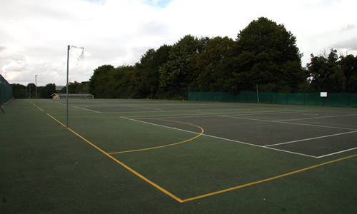 MGGS Netball and Tennis Courts